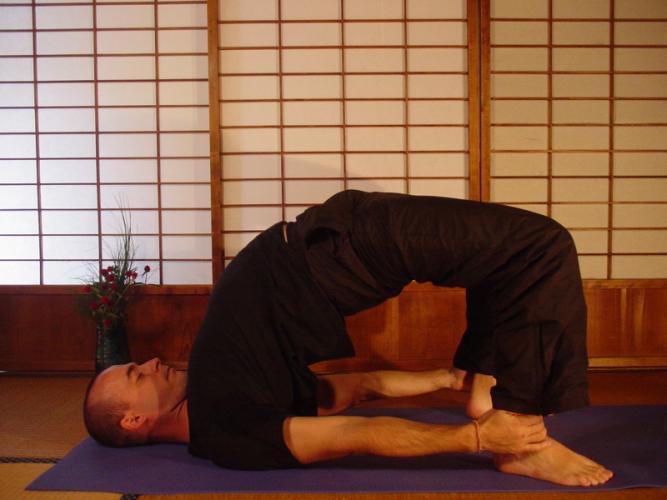 Сету бандха сарвангасана йога в